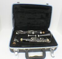 BUNDY Clarinet with Clarion Poly Crystal Mouthpiece in Case