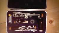 Vintage Clarinet Bb Artley 17 S With Mouthpiece Cap-Hard Case B Flat 131703