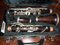 Albert System Clarinet F. Barbier Bb Low pitch (1920's)