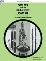 Solos for the Clarinet Player Clarinet and Piano Book 050490434