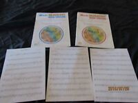 Lot 2 Alfred's Basic Band Method-Bass Clarinet-Book 1 & Clarinet Book 2-And More
