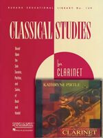 Classical Studies for Clarinet Rubank Book with CD Book and CD NEW 004470003
