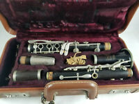 Selmer Signet Special Black Clarinet Made by Elkhart Indiana Vtg 60s W/ Case