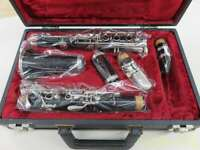 Used BUFFET CRAMPON Clarinet B-12 ABS Resin Nickel Silver With Case