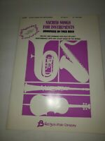 SACRED SONGS FOR INSTRUMENTS FRED BOCK ACCOMPAINMENT SOLO OR DUET