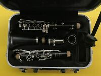 BUFFET CRAMPON PARIS PRODIGE CLARINET! WITH HARD CASE AND MUSIC STAND