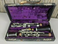 Auguste Buffet Paris Clarinet Wood with Hard Case