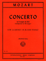 Concerto in A Major, K. 622 (Authentic edition): Edition for Clarinet in B-flat