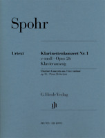 Clarinet Concerto No. 1 in C minor, Op. 26 Clarinet with Piano Reduction