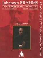 Two Sonatas Op 120 No 1 and 2 for Clarinet and Piano Charles Neidich 000298301