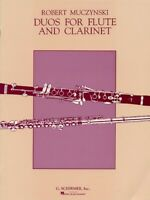 Duos Op 24 Score and Parts Flute and Clarinet Sheet Music NEW 050481545