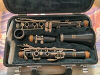 Yamaha Clarinet Model 20 Made In Japan In Original Case Includes RICO Reed