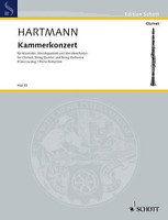 Chamber Concerto for Clarinet, String Quartet and Orchestra Piano Reduction with