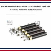 Clarinet sound hole Deformation chamfering knife repair tool 1 set of 5 Woodwind