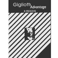 Gigliotti Advantage Eb Clarinet Reeds Strength 3, Box of 8