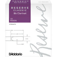 Daddario Reserve Classic Bb Clarinet Reeds 10-Pack - 2.0 , New!