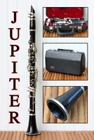 Vintage Jupiter Clarinet JCL-631 With Case And Mouthpiece Bb