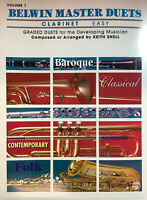 BELWIN MASTER DUETS for clarinet (easy).