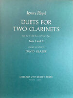 Duets For Two Clarinets. Medium easy.