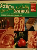 Alto Clarinet Accent on Christmas & Holiday Ensembles by O'Reilly & Williams
