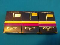 Vandoren Paris 10 Clarinette Sib-Bb 5 New in Box (Lot of 3 boxes)
