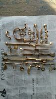1 Set Keys For Clarinet G Hole Nickel plated / Woodwind > Parts