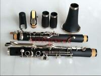 Band G Key Clarinet With Case Hard Rubber Good Material Good Sound