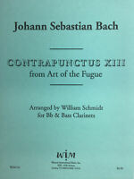 CONTRAPUNCTUS XIII, duet for Bb and Bass Clarinet