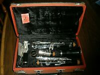 Leblanc Vito ANTIQUE Student Model Bb Clarinet with Case as-is