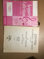 Lot Of Two Antique Clarinet And Flute Sheet Music