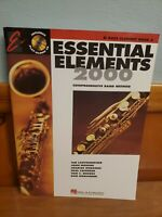 Essential Elements 2000 Bass Clarinet Book 2 - Includes the play along CD