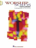 Worship Solos for Clarinet MUSIC BOOK/CD 11 ARRANGEMENTS RARE BRAND NEW ON SALE