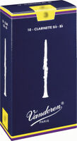 Reed Clarinet Sib Vandoren Traditional All Forces - Box Of 10 Reeds