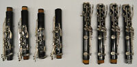 SET/LOT 8 Bb CLARINET JOINTS (BUNDY, VITO, EVETTE) - LOWER AND UPPER - PARTS