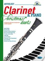 Anthology Christmas Duets  (Clarinet & Piano)  Clarinet and Piano  Book with CD