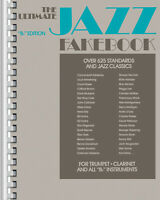 The Ultimate Jazz Fake Book Bb Instrument Sheet Music Trumpet Clarinet 635 Songs