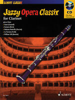 Jazzy Opera Classix for Clarinet Solo Jazz Sheet Music Play-Along Book CD