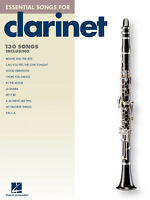 Essential Songs for Clarinet Solo Sheet Music Song Hal Leonard Book