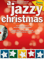 A Jazzy Christmas for Clarinet Solo Jazz Sheet Music Play-Along Book CD Pack
