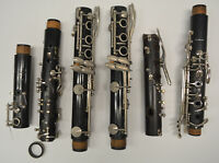 SET/LOT 6 Bb CLARINET JOINTS - LOWER AND UPPER - PARTS (VITO, REGENCY BY LEBLANC