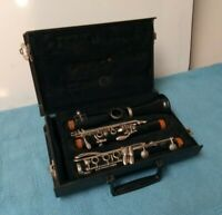 Vintage Vito Reso-tone 3 Clarinet USA With Original Hard Shell Case for Repair
