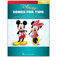 Disney Songs for Two Clarinets - Easy Instrumental Duets Series Songbook