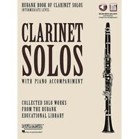 Rubank Book of Clarinet Solos - Intermediate Level Softcover Media Online