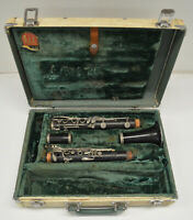 USED CONN USA WOOD Bb CLARINET - BROKEN -- BEST FOR PARTS