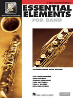 Essential Elements for Band Bb Bass Clarinet Book 2 Music Lessons & Online Media