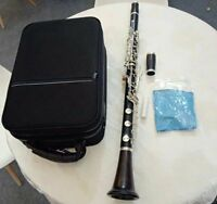 professional French G key clarinet wood body Silver plated key good sound
