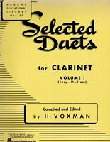 Rubank Selected Duets for Clarinet Volume 1