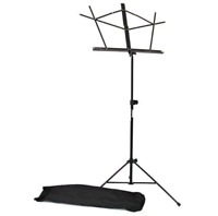 Selmer 450BK Folding Music Stand, W/ Bag -Black finish New from O'Malley Musical
