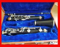 Vintage Heimer Clarinet Consider For Parts Needs A Mouthpiece