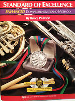 STANDARD OF EXCELLENCE ENHANCED CLARINET BOOK WITH CD INCLUDED!!! Book 1